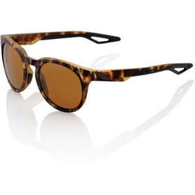 100% Campo Lunettes cyclisme, soft tact havana | bronze peakpolar